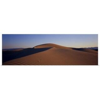 """""""California, Mojave Desert, Cadiz Dunes"""" Poster Print"""
