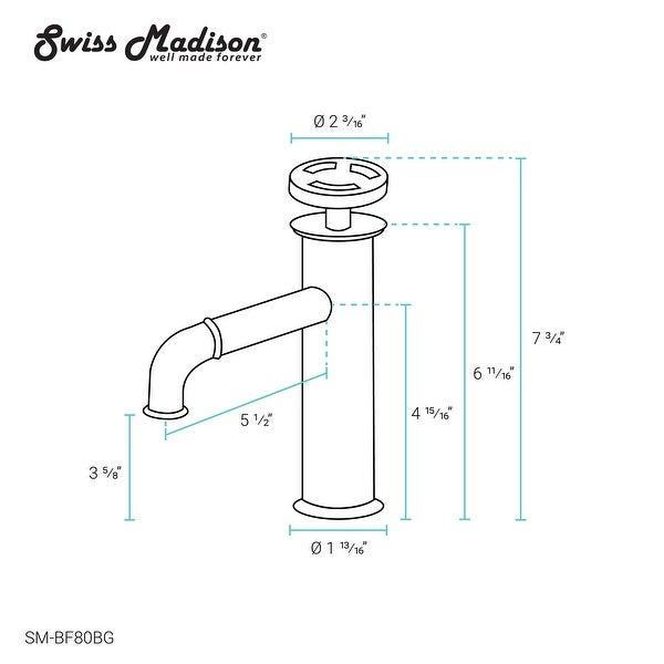 Avallon 7 Single Handle, Bathroom Faucet