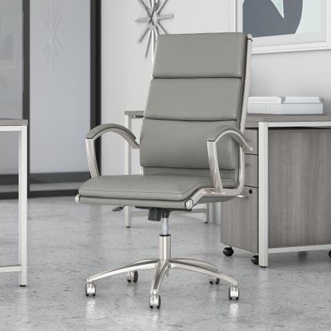 400 Series Leather Executive Office Chair by Bush Business Furniture