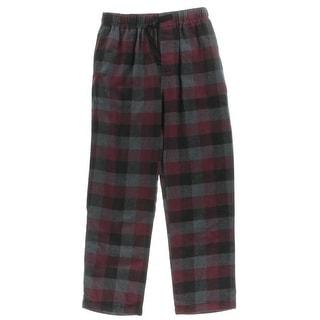 Perry Ellis Portfolio Mens Sleep Pant Checkered Flannel - M