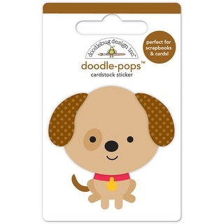 Doodlebug Doodle-Pops 3D Stickers-Sparky