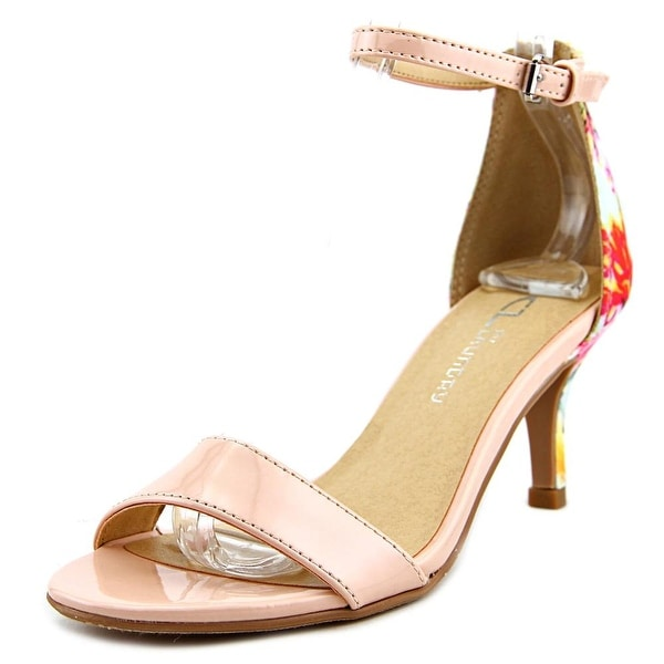 CL By Laundry Jordin Women Open Toe Synthetic Pink Sandals