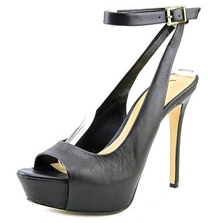 BCBGeneration Solo Women  Open Toe Leather  Platform Heel