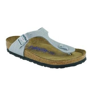Birkenstock Gizeh Soft Footbed Birko-Flor Sandals