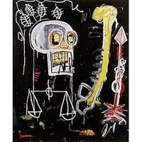 Untitled, Black Scull, Jean-Michel Basquiat