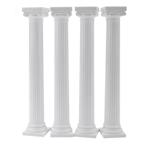 """Grecian Pillars 4/Pkg-7"""""""
