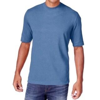 WEATHERPROOF NEW Blue Mens Size 4XLT Big & Tall Crewneck Tee T-Shirt
