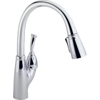 Delta 989-DST  Allora Pull-Down Kitchen Faucet with Magnetic Docking Spray Head