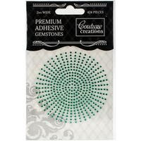 Couture Creations Self-Adhesive Gemstones 2mm 424/Pkg-Jade