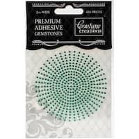 Couture Creations Self-Adhesive Gemstones 2mm 424/Pkg-Jade