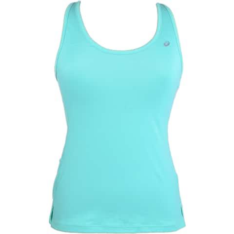 Asics Womens Asx Dry Tank Running Athletic Tank Top