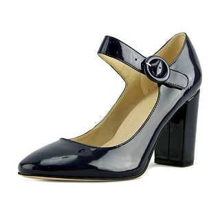 Marc Fisher Shaylie Women Round Toe Synthetic Blue Mary Janes
