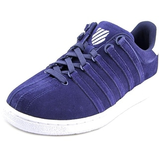K-Swiss Classic VN SDE Men Round Toe Suede Blue Sneakers