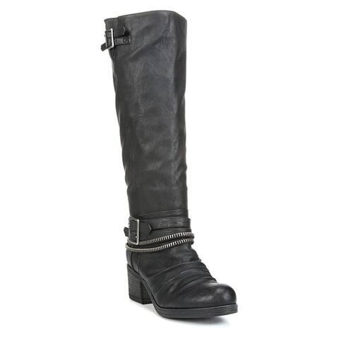 Carlos by Carlos Santana Womens Candace Closed Toe Mid-Calf Fashion Boots