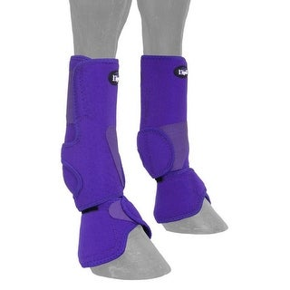 Tough-1 Boots Combo Air Flow Perforated Neoprene Quick Grip