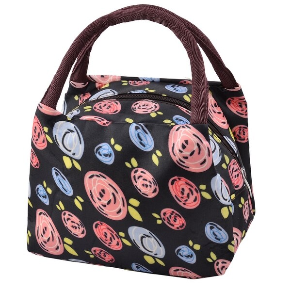 Oxford Cloth Handbag Food Pouch Bento Lunch Bag Cooler Tote
