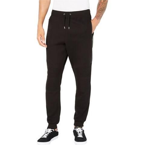 I-N-C Mens Otto Casual Sweatpants, Black, Small