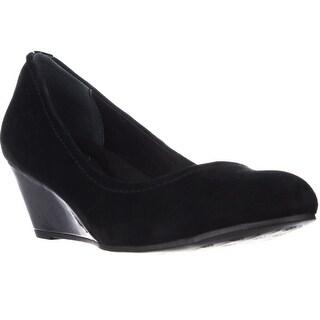 GB35 Jileen Comfort Wedge Heels - Black