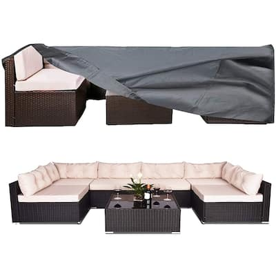 Waterproof Patio Furniture Covers, Anti-UV Sectional Furniture Cover