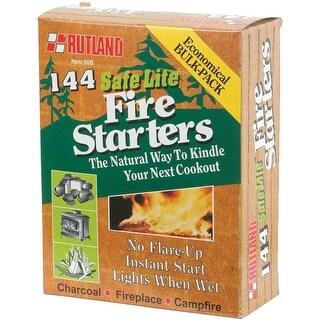 Rutland 50B Safe Lite Fire Starter, 144/Pack