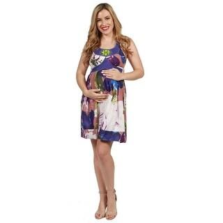 24seven Comfort Apparel Barbara Maternity Dress