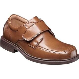 Florsheim Boys' Berwyn Jr. II Moc Toe Shoe Cognac Leather