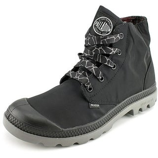 Palladium Pampa Puddle Lite Men Round Toe Synthetic Black Boot
