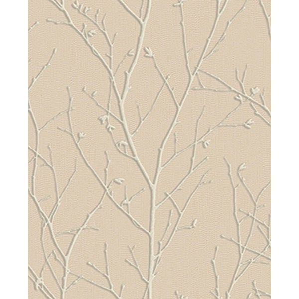Shop Graham And Brown 104757 Evita Water Silk Sprig Botanical Paste