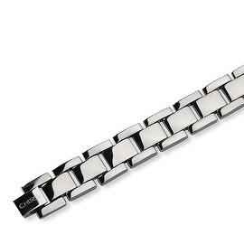 Chisel Polished Titanium Bracelet - 8.5 Inches