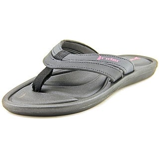 Rider Plush II Open Toe Synthetic Thong Sandal