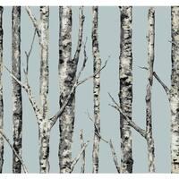 York Wallcoverings LL4756 Urban The Birches Wallpaper - N/A
