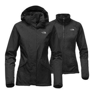 The North Face Women's Boundary Triclimate Jacket ( Black ,L) - Large