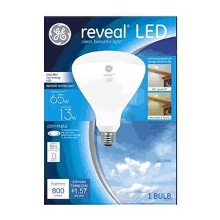 GE 45694 BR40 Reveal LED Indoor Flood Light Bulb, 13 Watt