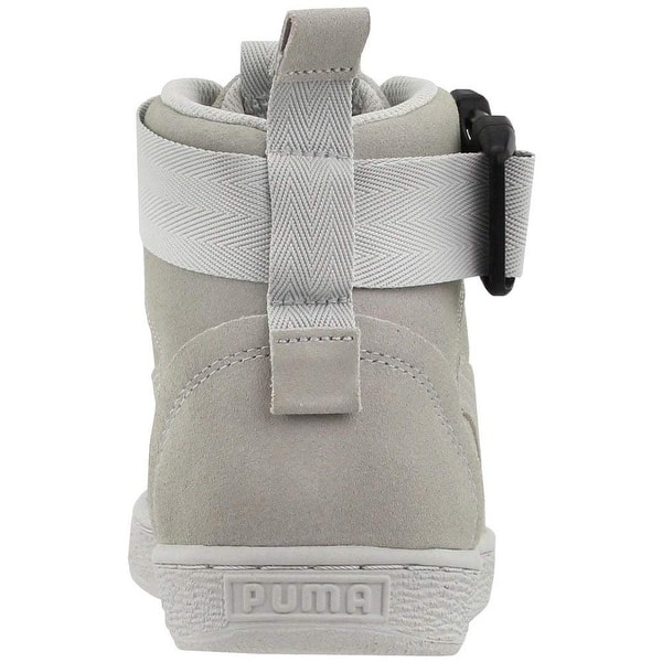 Puma Mens suede classic mid buckle Suede Hight Top Lace Up Fashion Sneakers
