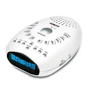 Conair Su7 Soothing Sounds & Relaxation Clock Radio - White