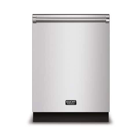 KUCHT Professional 24 in. Top Control Dishwasher in Stainless Steel with Stainless Steel Tub and Multiple Filter System