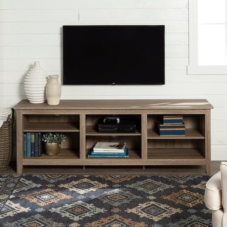 Link to Copper Grove Beaverhead 70-inch Driftwood TV Stand Console Similar Items in TV Consoles