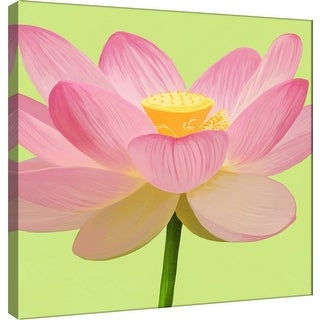 "PTM Images 9-100064  PTM Canvas Collection 12"" x 12"" - ""Flower Art 3"" Giclee Flowers Art Print on Canvas"
