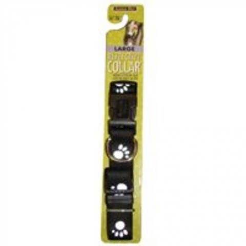 "Aspen Pet 27880 Dog Collar, 1""x16""-26"", Black"