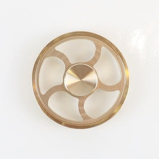 Hand Fidget Spinner - Grind Wheel - Stress and Anxiety Reliever - GOLD
