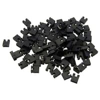 Computer Jumper For Hard Drive, CD/DVD Drive, Motherboard and/or Expansion Card Jumper blocks, 100 Piece, 2.54mm
