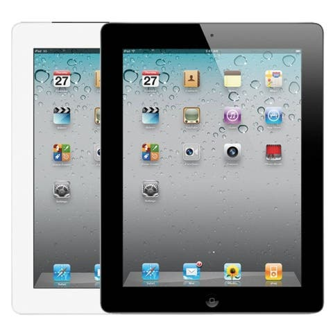 "Apple Ipad 3 with Wi-Fi 9.7"" - 16GB - Black - White (Refurbished)"