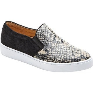 1ab8808b75bf Shop Vionic Women s Midi Double Gore Slip-On Sneaker Natural Snake Printed  Leather - Free Shipping Today - Overstock - 21692071