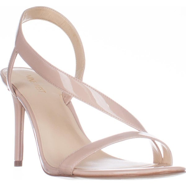 Nine West Rhyan Cross Strap Sandals, Natural