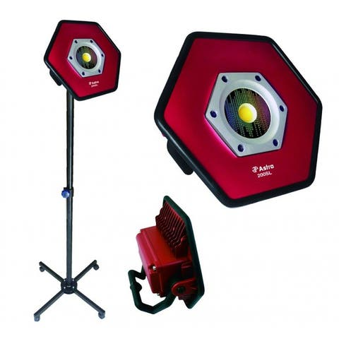 Astro 200sl astro 200sl (2 pieces - stand & light) sunlight rechargeable color match flood light rolling stan