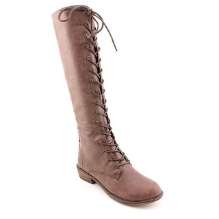 Dirty Laundry Pride and Joy Women Round Toe Synthetic Brown Knee High Boot