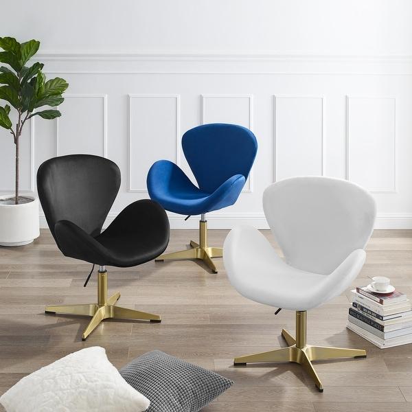 Corvus Ferrell Swivel Lounge Accent Chair. Opens flyout.