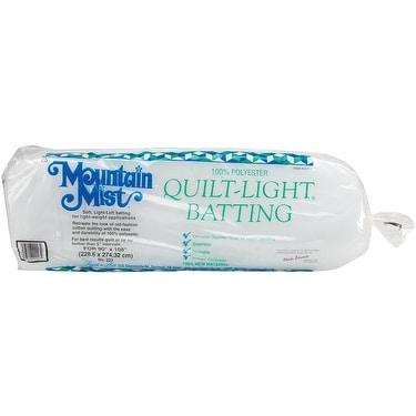 "Quilt-Light Polyester Batting-Queen Size 90""X108"" FOB: MI"