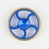 Hand Fidget Spinner - Grind Wheel - Stress and Anxiety Reliever - Blue