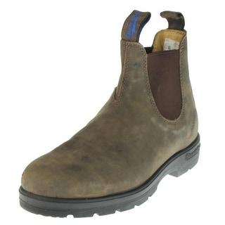 Blundstone Mens Leather Waterproof Chelsea Boots - 6.5 medium (d)